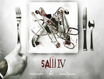 Teaser póster de Saw IV